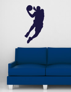 "Catherine Blaine School Tigers Wall Silhouette Decal 20"" x 32"""