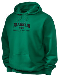 Franklin High School Quakers Holloway Men's 50/50 Hooded Sweatshirt