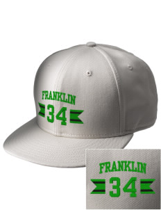 Franklin High School Quakers  Embroidered New Era Flat Bill Snapback Cap