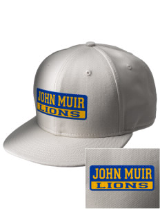 John Muir Elementary School Lions  Embroidered New Era Flat Bill Snapback Cap