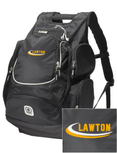 Lawton Elementary School Dolphins  Embroidered OGIO Bounty Hunter Backpack
