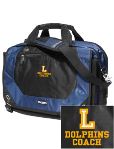 Lawton Elementary School Dolphins Embroidered OGIO Corporate City Corp Messenger Bag