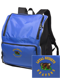 Loyal Heights Elementary School Beavers Embroidered Holloway Backpack