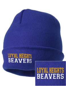 Loyal Heights Elementary School Beavers Embroidered Knit Cap