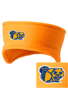 Loyal Heights Elementary School Beavers Embroidered Fleece Headband