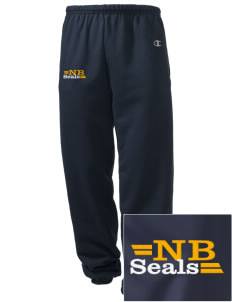 North Beach Elementary School Seals Embroidered Champion Men's Sweatpants