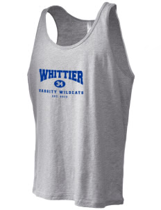 Whittier Elementary School Wildcats Men's Jersey Tank
