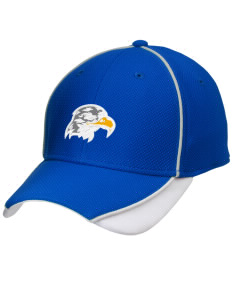 Hawthorne Elementary School Hawks Embroidered New Era Contrast Piped Performance Cap