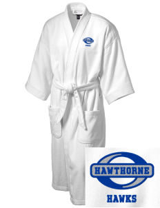 Hawthorne Elementary School Hawks Embroidered Terry Velour Robe