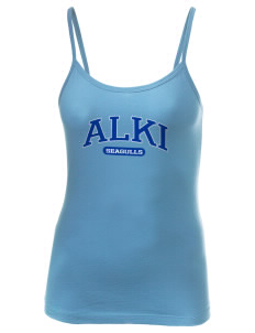 Alki Elementary School Seagulls Women's Louise Longer Length Tank