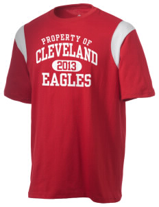 Cleveland High School Eagles Holloway Men's Rush T-Shirt
