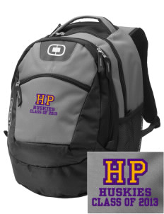 High Point Elementary School Huskies Embroidered OGIO Rogue Backpack
