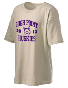 High Point Elementary School Huskies Kid's 6.1 oz Ultra Cotton T-Shirt