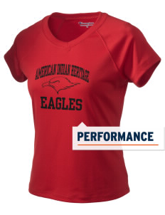 American Indian Heritage School Eagles Champion Women's Wicking T-Shirt