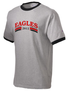 American Indian Heritage School Eagles Champion Men's Ringer T-Shirt