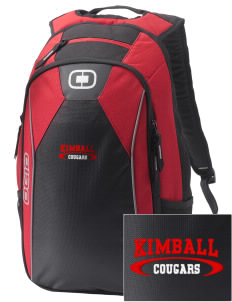 Kimball Elementary School Cougars Embroidered OGIO Marshall Backpack