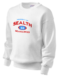 Sealth High School Seahawks Kid's Crewneck Sweatshirt