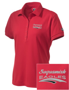 Suquamish Elementary School Eagles Embroidered OGIO Women's Jewel Polo