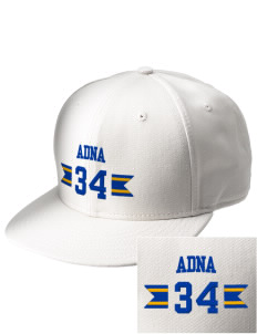 Adna Senior High School Pirates  Embroidered New Era Flat Bill Snapback Cap