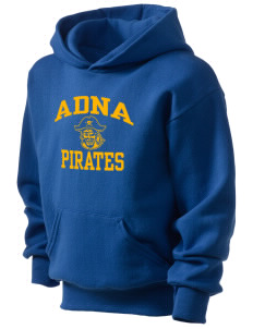 Adna Senior High School Pirates Kid's Hooded Sweatshirt
