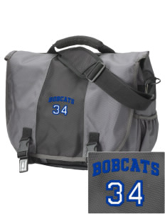 Belfair Elementary School Bobcats  Embroidered Montezuma Messenger Bag
