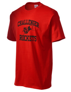 Challenger Middle School Rockets Men's Essential T-Shirt