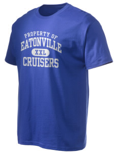 Eatonville High School Cruisers Hanes Men's 6 oz Tagless T-shirt