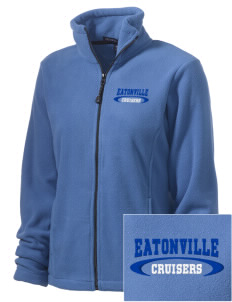 Eatonville High School Cruisers Embroidered Women's Wintercept Fleece Full-Zip Jacket