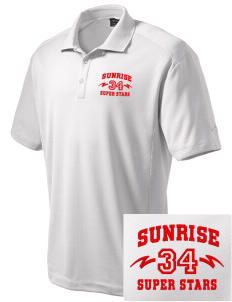 Sunrise Elementary School Super Stars Embroidered Nike Men's Dri-Fit Classic Polo