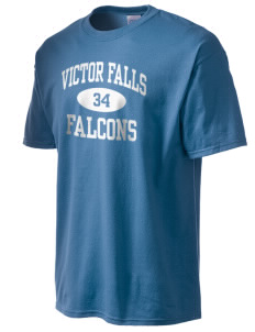 Victor Falls Elementary School Falcons Men's Essential T-Shirt