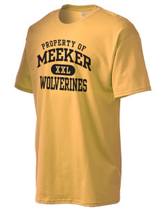Meeker Middle School Wolverines Men's Essential T-Shirt