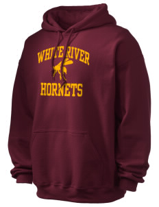 White River High School Hornets Ultra Blend 50/50 Hooded Sweatshirt