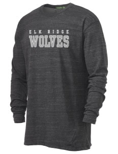 Elk Ridge Elementary School Wolves Alternative Men's 4.4 oz. Long-Sleeve T-Shirt