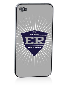 Elk Ridge Elementary School Wolves Apple iPhone 4/4S Skin