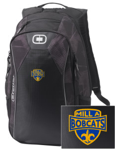 Mill A Elementary School Bobcats Embroidered OGIO Marshall Backpack