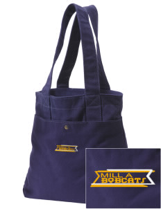 Mill A Elementary School Bobcats Embroidered Alternative The Berkeley Tote