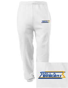 Mill A Elementary School Bobcats Embroidered Men's Sweatpants with Pockets