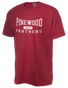 Pinewood Elementary School Panthers  Russell Men's NuBlend T-Shirt