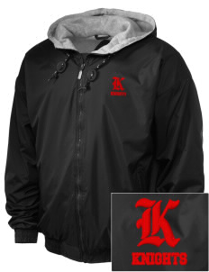 Liberty Elementary School Knights Embroidered Holloway Men's Hooded Jacket