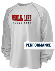 Medical Lake Elementary School Cougar Cubs Holloway Men's Fuel Performance Long Sleeve T-Shirt