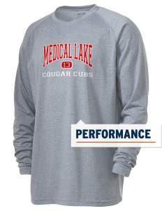 Medical Lake Elementary School Cougar Cubs Men's Ultimate Performance Long Sleeve T-Shirt