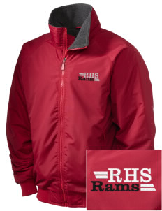 Riverside High School Rams Embroidered Holloway Men's Tall Jacket