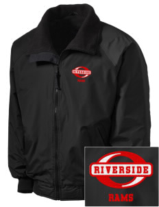 Riverside High School Rams Embroidered Tall Men's Challenger Jacket