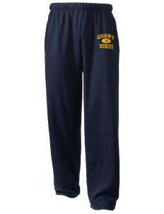 Grant Elementary School Huskies  Holloway Arena Open Bottom Sweatpants