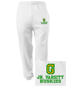 Grant Elementary School Huskies Embroidered Men's Sweatpants with Pockets