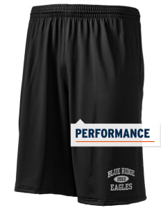 "Blue Ridge Elementary School Eagles Holloway Men's Performance Shorts, 9"" Inseam"
