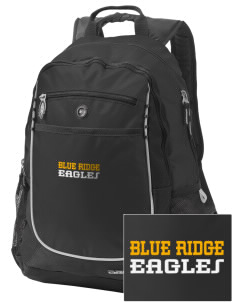 Blue Ridge Elementary School Eagles Embroidered OGIO Carbon Backpack