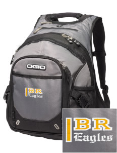 Blue Ridge Elementary School Eagles Embroidered OGIO Fugitive Backpack