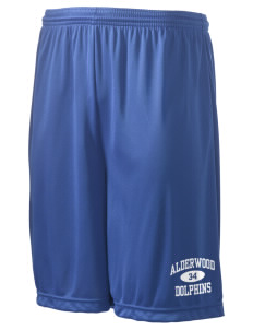 "Alderwood Elementary School Dolphins Men's Competitor Short, 9"" Inseam"