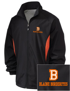 Blaine High School Blaine Borderites Embroidered Holloway Men's Full-Zip Jacket